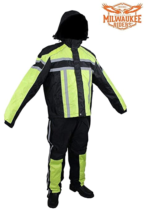 Amazon.com: Mk rider - Traje de moto para hombre, textil ...