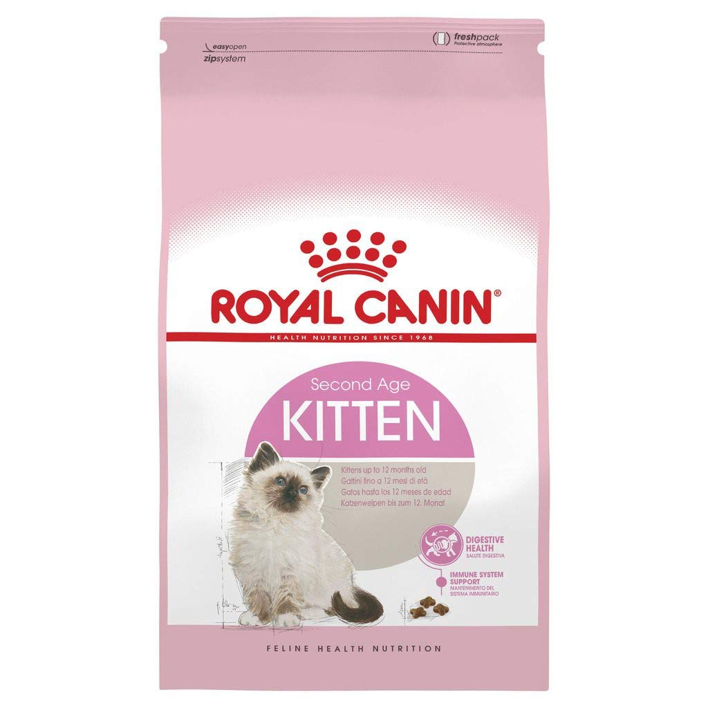 Buy Royal Canin Second Age Kitten 2kg Online At Low Prices In India Amazon In