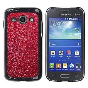 For Samsung Galaxy Ace 3 III / GT-S7270 / GT-S7275 / GT-S7272 Case , Christmas Xmas Decoration Glitter - Diseño Patrón Teléfono Caso Cubierta Case Bumper Duro Protección Case Cover Funda