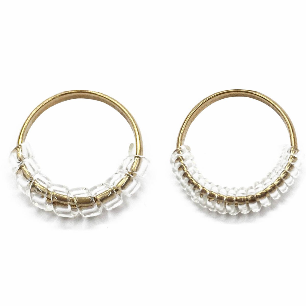 Ring Size Adjuster for Loose Rings with Jewelry Polishing Cloth Set of 30 Transparent Ring Gaurd Ring Spacer