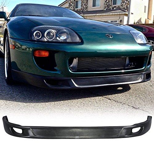 93-98 Toyota Supra V2 Style Urethane Front Bumper Lip