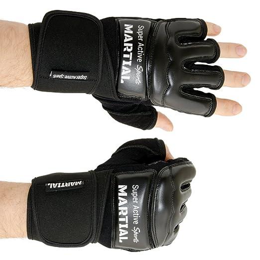 26 opinioni per Guanti boxe MMA professionali per arti marziali miste, box, allenamento, sacco,