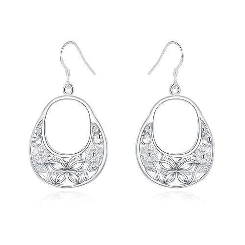 d67924a78852 CLOOM Ohrringe Perle Ohrring Set Kombination SEinfache Mode Diamant Ewige  Schmetterling Ohrringe Ohrstecker Frauen Schmuck Retro
