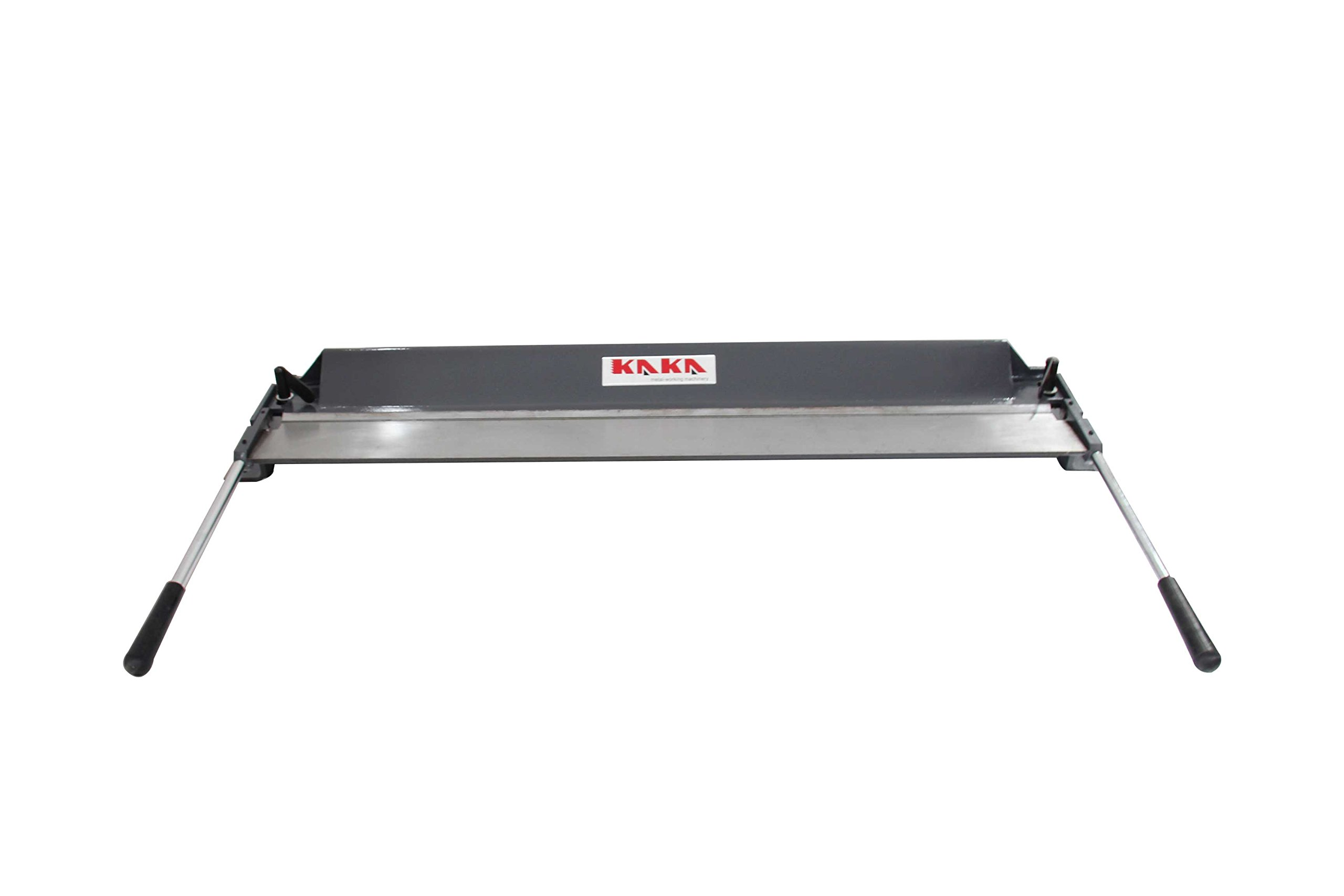 Kaka Industrial W1.2x1000 40-Inch Sheet Metal Bending Brake, 18 Gauge Mild Steel and 16 Gauge Aluminum