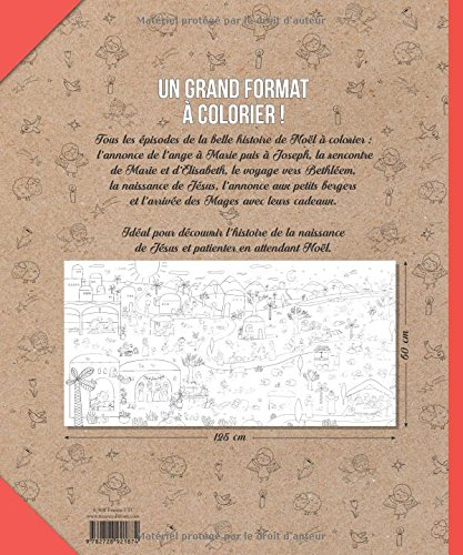 Le Coloriage Geant De Noel Amazon Fr Grandgirard Melanie Livres