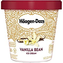 Haagen Dazs, Vanilla Bean Ice Cream, Pint (8 Count)