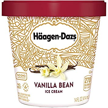 Häagen-Dazs, Strawberry Ice Cream, Pint (8 Count): Amazon.com: Grocery & Gourmet Food