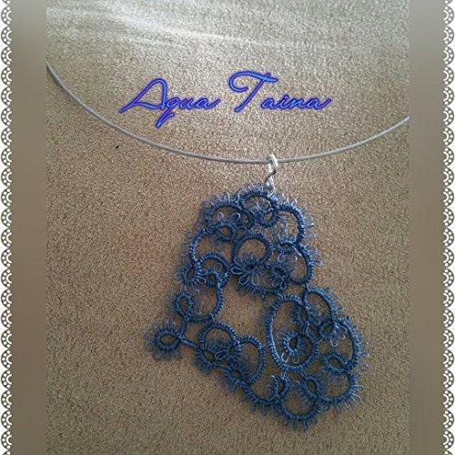 Still my Heart!!! Tatting Heart Necklaces