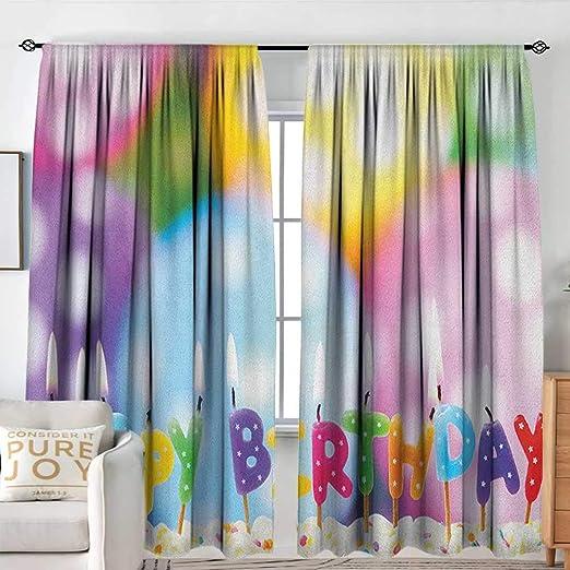 Cortina para Puerta corredera de cumpleaños para niños con ...