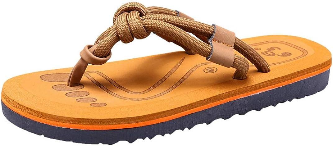 T-JULY Women Fashion Couples Sandals Casual Flat Flip Flops Men Outdoor Slippers Beach Shoes Sandal Summer