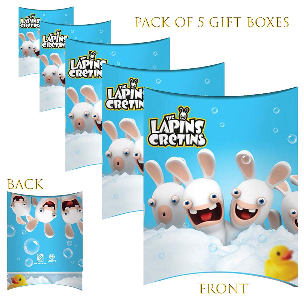 Paquete de 5 cajas de regalo para fiestas y cumpleaños, color ...