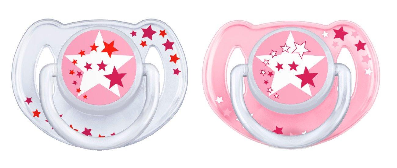 Philips Avent BPA Free Night time Toddler (6-18 Mo's) - Pink SCF176/24