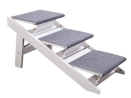 Superieur PAWLAND 2 In 1 Portable Folding Pet Stairs For Dogs, Cats, High
