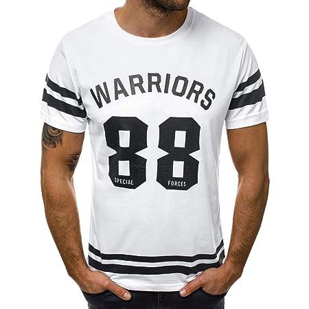Camiseta Deportiva Hombre de Manga Corta Transpirable y Secado ...