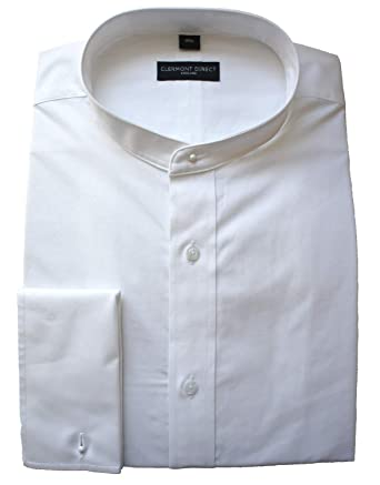 32d9c95d418 Traditional Pure Cotton White Tunic Shirt: Amazon.co.uk: Clothing