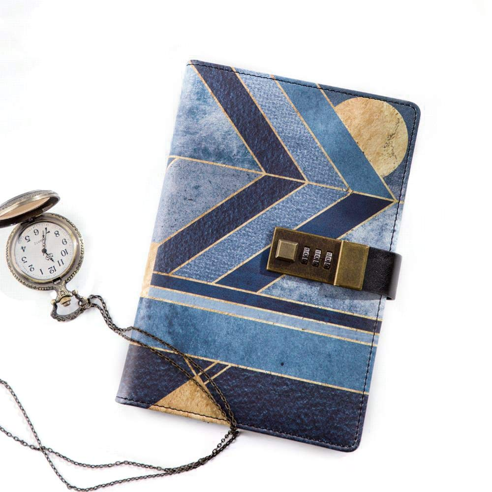 Sinngukaba Ancient Egyptian Legend Code Notebook- Premium Thick Paper A6 Ruled Notebooks with Pocket + Marker Ribbon (Pattern : Egyptian Legend)