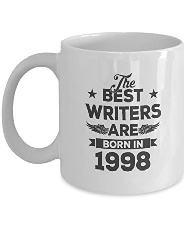 Amazing 19th Birthday Gift For Grandson Boyfriend Best Writers Are Born In 1998