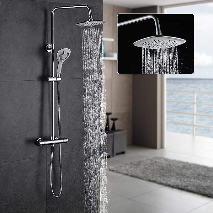 LIBINA - bathroom Columna de Ducha, Mezclador Columna Sistema de ...