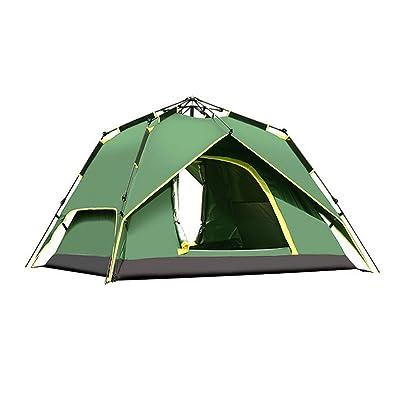 Ysayc Outdoor Camping Entièrement automatique Double tente de camping 3-4 personnes