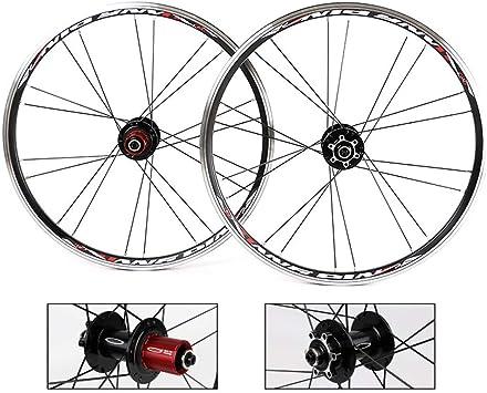 TianyiTrade 20 Pulgadas Bicicleta Freno de Disco Ruedas 7 8 9 10 ...
