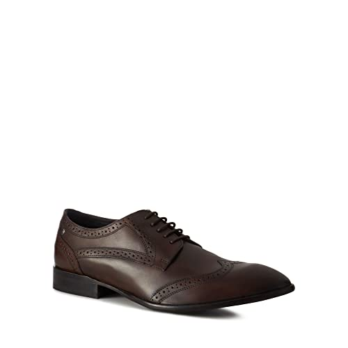 Base London Dark brown leather 'Larsson' brogues