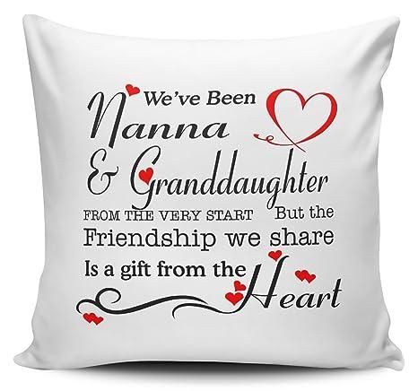 Hemos sido abuela y nieta desde el principio... Cojín ...