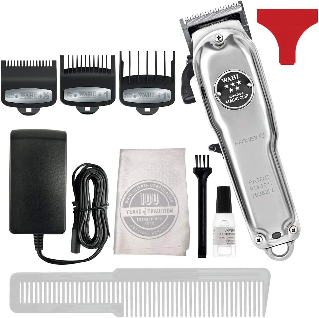 WAHL MAGIC CLIP CORDLESS METAL: Amazon.es: Belleza