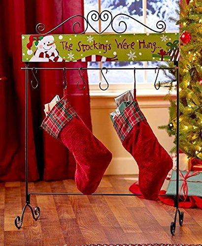 Christmas Stocking Holder Stand.Standing Christmas Stocking Hangers Holder