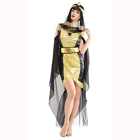 Traje de Cosplay de Halloween Adulto Faraón Egipcio Reina ...