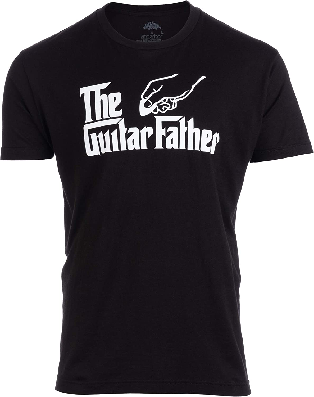 The Guitar Father | Funny Music Player Musician Pick Humor Men Women Joke T-Shirt