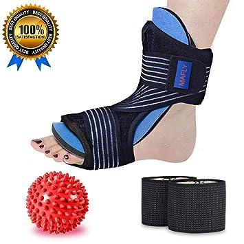e59d5c1dab7ce Plantar Fasciitis Night Splint Foot Drop Orthotic Brace Sleep Arch  Support-Healing Wonders Adjustable...