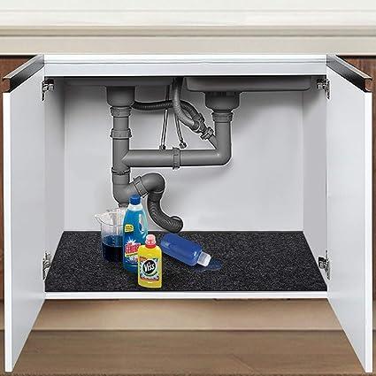 Amazon Com Mdrebel Under The Sink Mat 24x36 Cabinet Mat