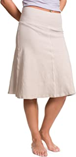 product image for Hard Tail A line Skirt for Girls (Beige) CS-88