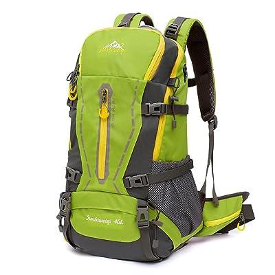40L sac à dos sac à dos randonnée pédestre et randonnée sac camping / randonnée chasse randonnée en plein air exercice voyage alpinisme sac à dos avec couverture de plui