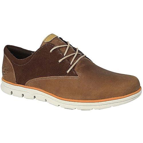 Timberland Bradstreet Oxford - Zapatillas casual para hombre - marrón Talla 44 2016: Amazon.es: Zapatos y complementos