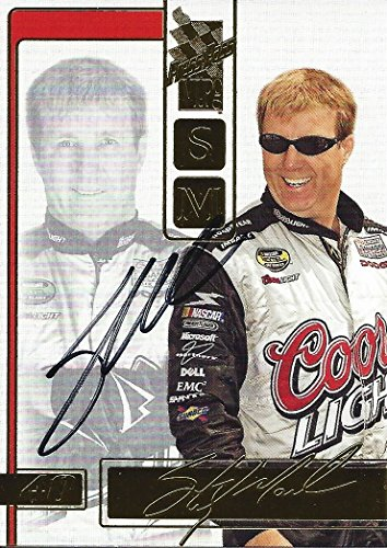 AUTOGRAPHED Sterling Marlin 2005 Press Pass Racing VIP (#40 Coors Light Team) Ganassi Signed Collectible NASCAR Trading Card with COA