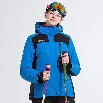 GZ Chaqueta Traje de Esquí Mujer Transpirable Espesar Cálido ...
