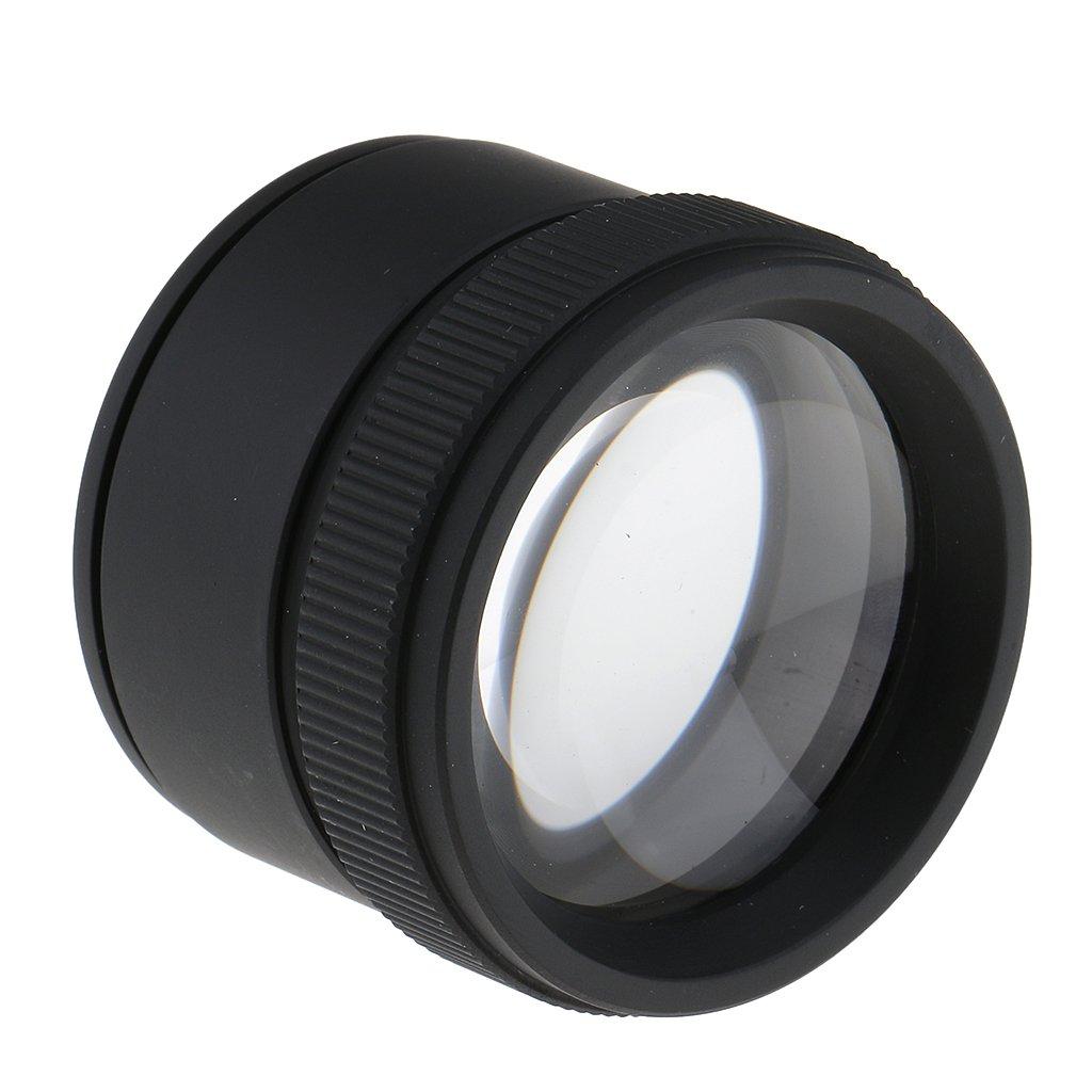 MagiDeal Loupes de Bijoux 30x Grossissement Diam/ètre 36mm Portables Microscope Pour R/éparation Bricolage Evaluation
