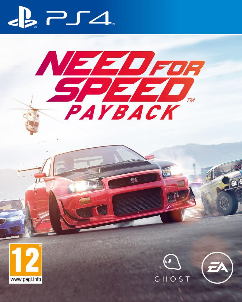 Need for Speed Payback - PS4  | Ghost Games. Programmeur