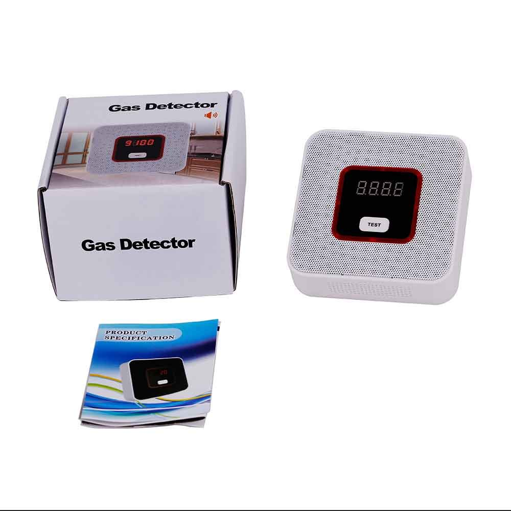 Natural Gas//LPG//Methane//Propane Gas Detector Alarm Combustible Gas Leak Detector Alarm Gas Detection Monitor Sensor