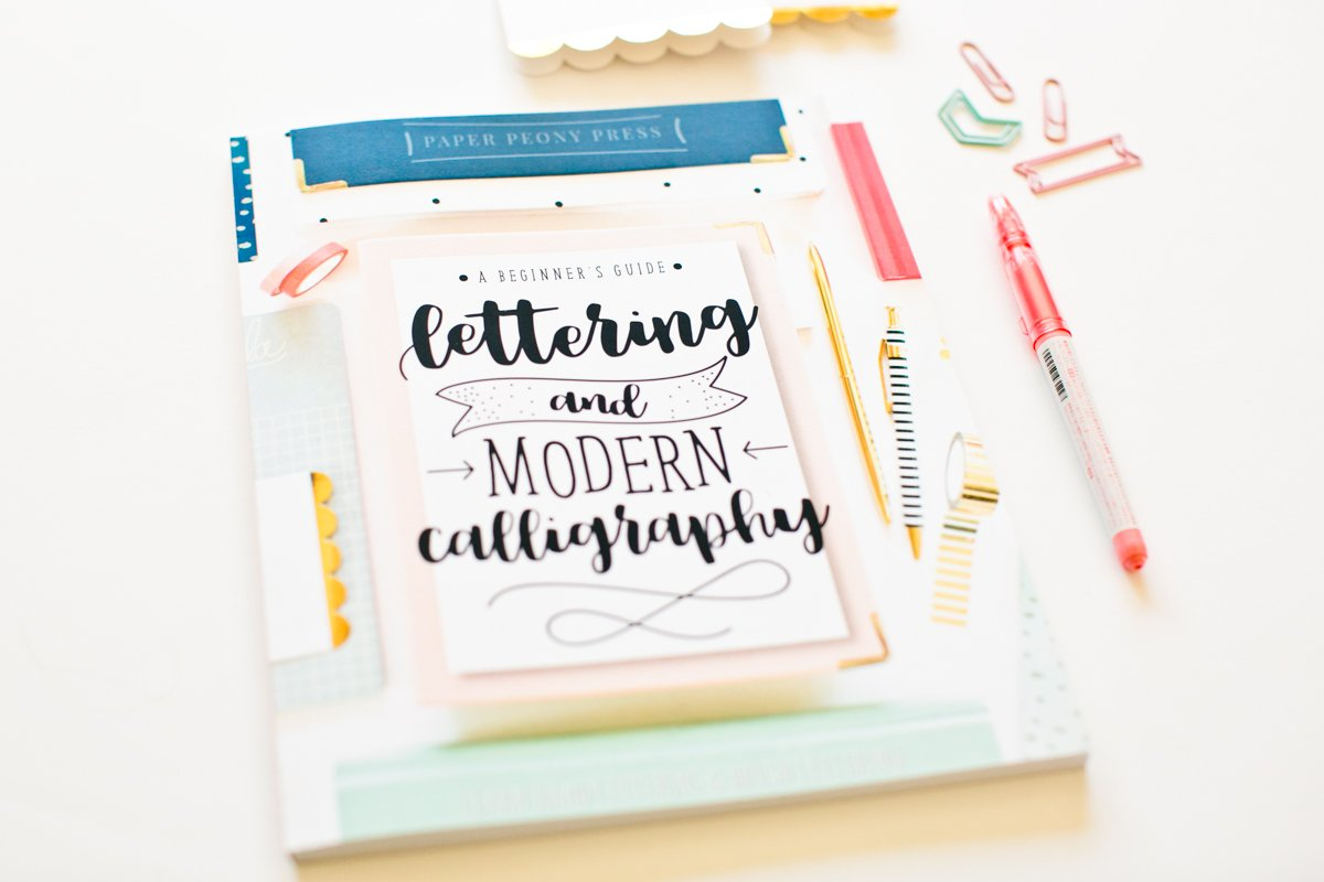 Lettering and modern calligraphy a beginner s guide learn hand