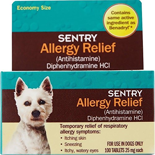 Dogs 100 Tabs - Allergy Relief Tabs for Dogs 100 count