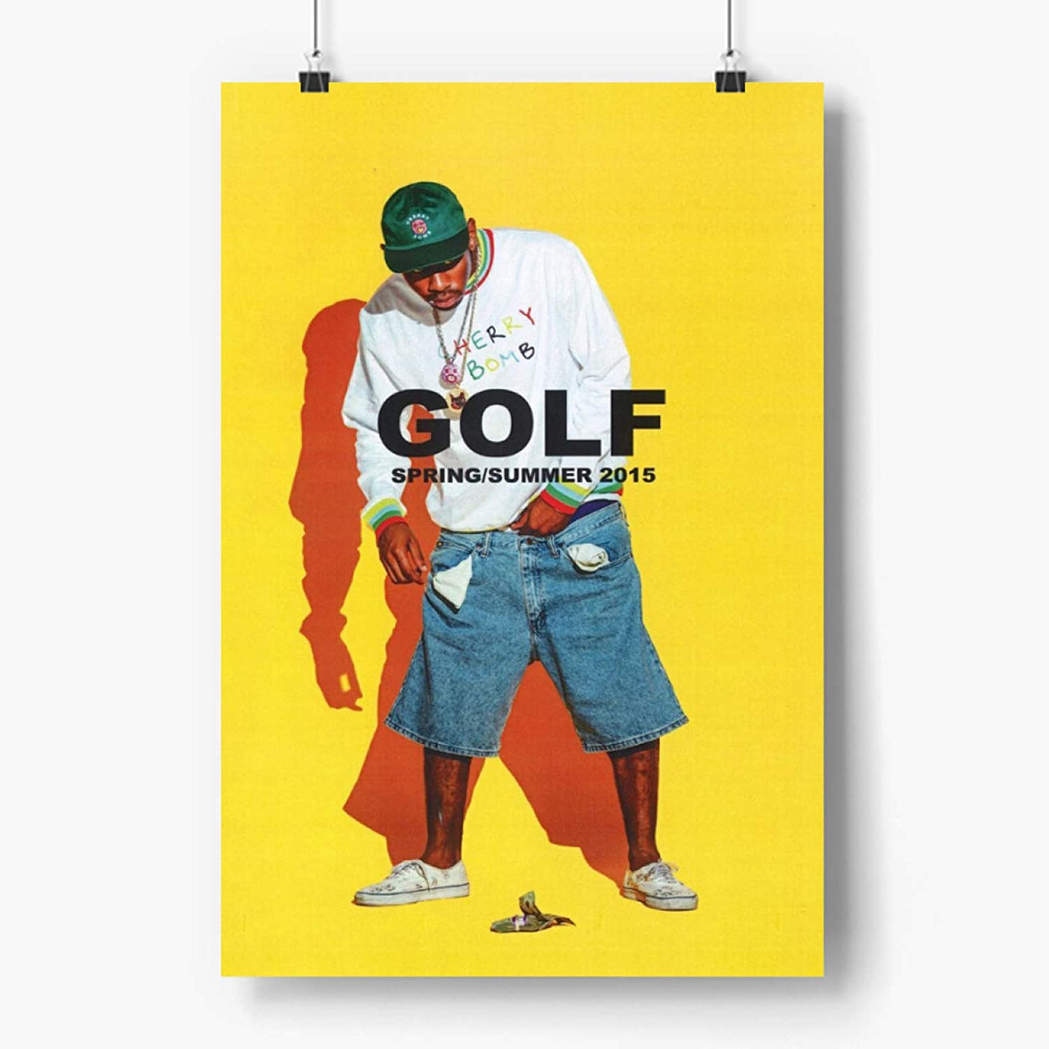 Tyler The Creator Posters 18×24 inches Unframed Go Awesome Tyler The Creator Posters for Home Wall Decor, Dorm Posters for Guys