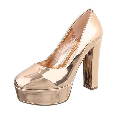 Cingant Woman Damen Pumps/Stilettoabsatz/High Heels/Damenschuhe/Elegante Schuhe/Rot, EU 37