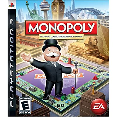 Monopoly - Playstation 3: Artist Not Provided: Video Games