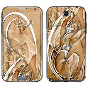 Diabloskinz Dying B 0091-0027-0002 Skin de vinilo para Samsung Galaxy Note 2 con Diseño de manos y plumas