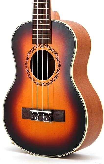JINHONGH Ukulele ukulele ukelele ukelele ukelele pequeña guitarra ...