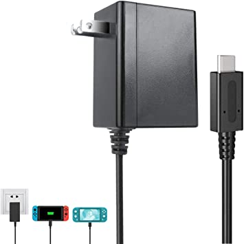 Switch Charger for Nintendo Switch and Lite Charger. Adaptador de ...
