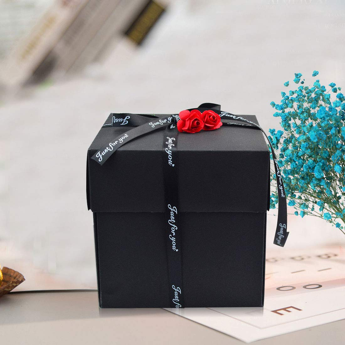 Creative Explosion Gift Box, Surprised Gifts Boxes,DIY Photo Album Box for Birthday & Valentine\'s Day