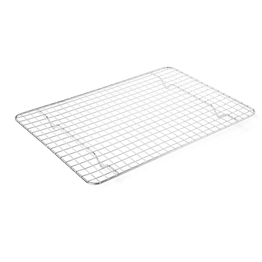 LHFLIVE Stainless Steel Cooling Rack For Baking Oven and Dishwasher Safe,12 x 17 inches Fits Half Sheet Pan